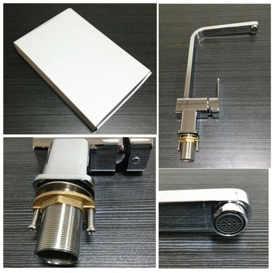 Australia Standard Water-Saving Brass Chrome Single-Lever Kitchen Sanitary Ware (HD4257) pictures & photos