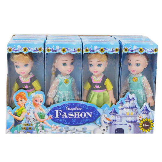 Girl Gift 6 Inch Plastic Frozen Toy Little Doll (H10232033) pictures & photos
