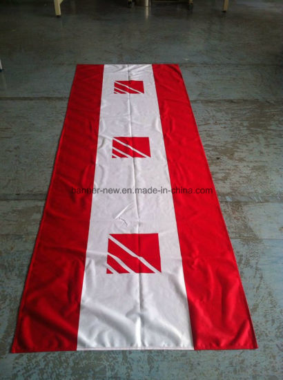 Full Color Polyester Banner Printed Fabric (SS-FB3) pictures & photos