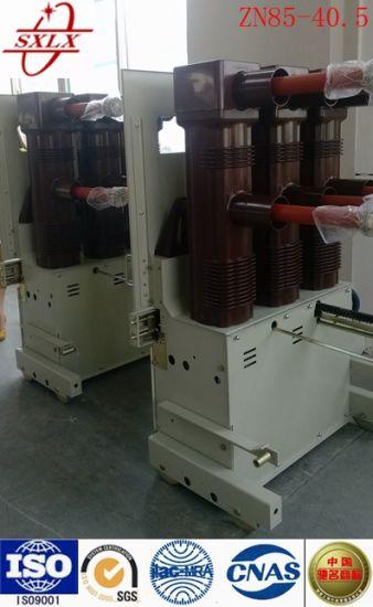 Zn85-40.5t Indoor High-Voltage Vacuum Circuit Breaker (ISO9001-2000)