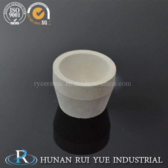 40*30*30mm 7A Megnesia Ceramic Cupel Crucible