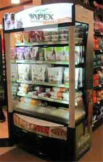 Supermarket Muti Deck Display Open Air Chiller in High Quality pictures & photos