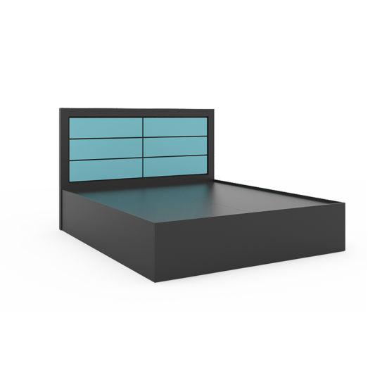 Wholesale Home Furniture Wooden Bedroom Furniture King Size Bed