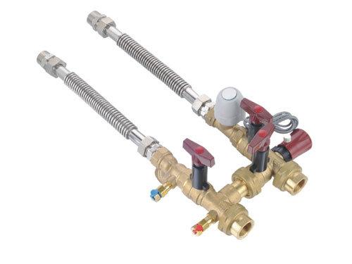 Thread Brass Valves Fcu Hook up