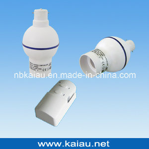 B22 Wireless 433.92 MHz RF Remote Control Lamp Holder (KA-RLH06-2) pictures & photos