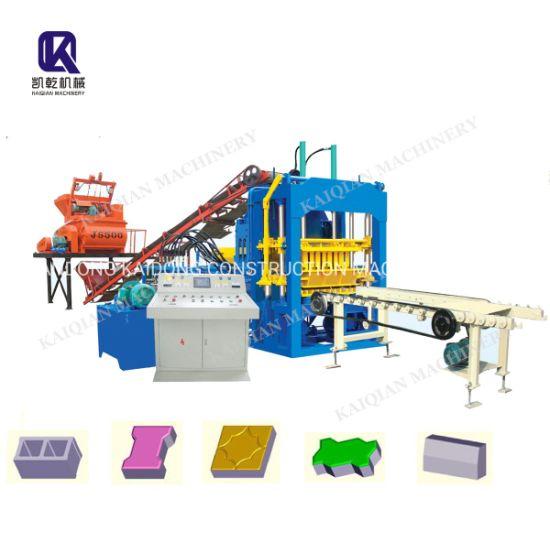 Kaidong Sale Promotion Brick Block Making Machine Paver Brick Making Machine Qt4-15