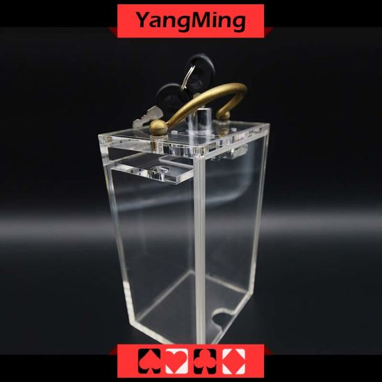 Mini New Shape Casino Sending Card Box For 6 Decks Playing Cards Poker  Dedicated Table Accessories Ym Sh03