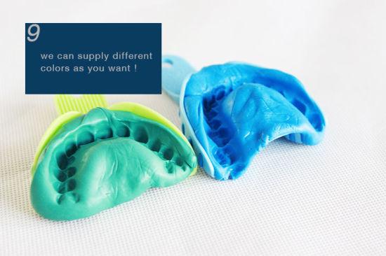 Vinyl Polysiloxane Teeth Impression Material Kit Silicone Mold Putty