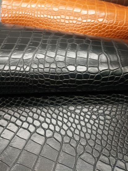 High Quality Glitter PVC Soft Strong Mesh Fabric for Car Upholstery Bag Shoe Furniture pictures & photos