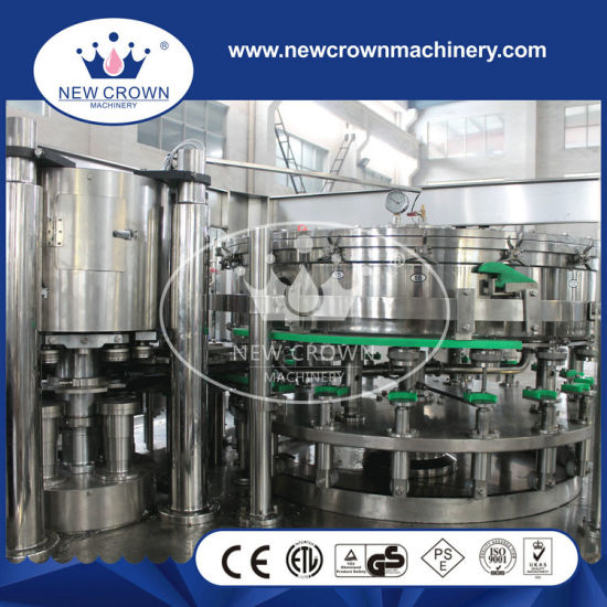Automatic Aluminum Can Filling Line / Machine for Small Beer pictures & photos
