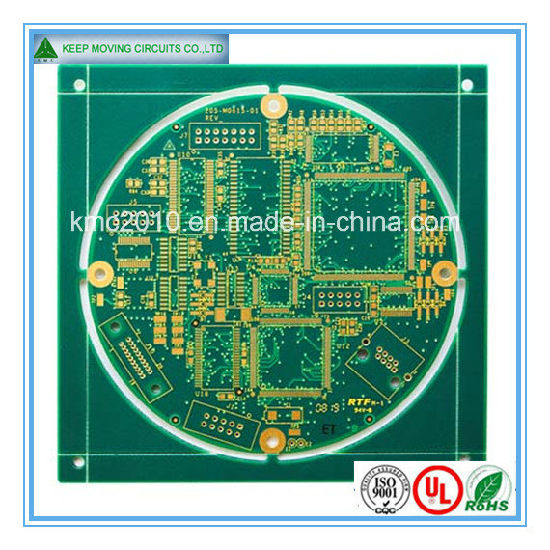 High Frequency PCB Multilayer PCB with Immersion Gold pictures & photos