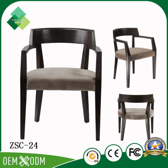 china high quality simple style armchair restaurant furniture for