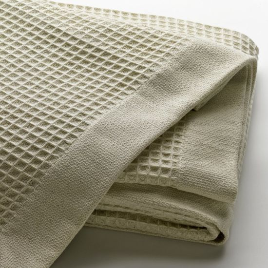 Eco-Friendly Cotton Knitted Blanket for Hotel Bedding pictures & photos