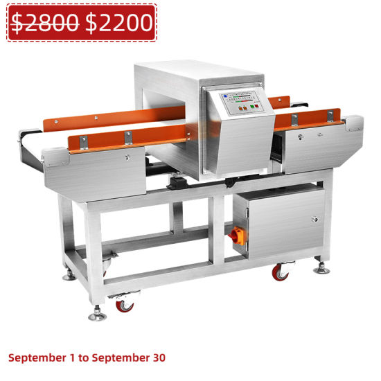 Broken Needle Conveyor Metal Detector Food Industry Detector for Food