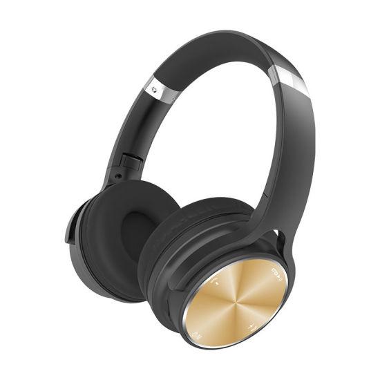 Factory Noise Reduction Wireless Bluetooth Headband Earphones Support Tfcard Headphone Headset