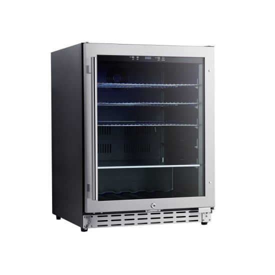 Ce RoHS Built in and Freestanding 118L Compressor Driven Beverage Refrigerator