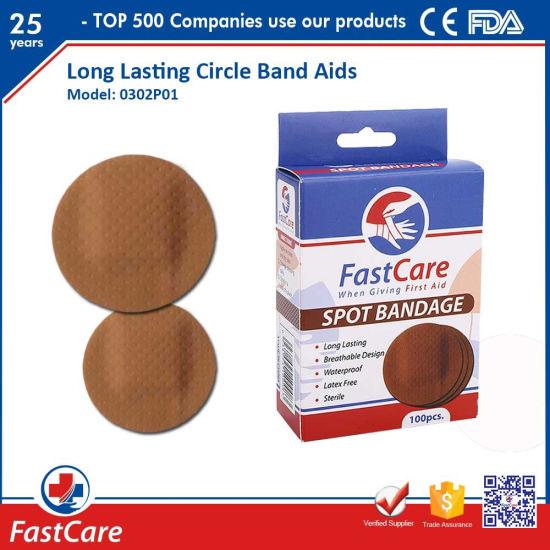 Adhesive Circular Round Spot Band Aid