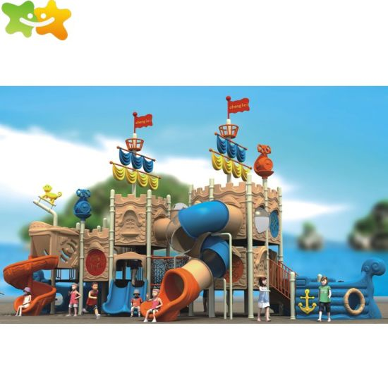 S008 TPE Safe Material Customized Available Commercial Playground Equipment