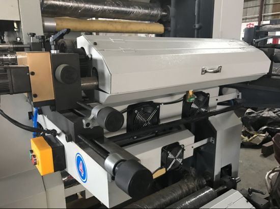 Helical Gear Driving 6 Colors Polyethene Film Flexo Printing Machine (NX-A61000) pictures & photos
