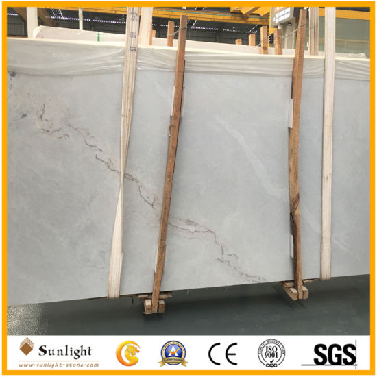 Chinese Volakas White Marble for Bathroom Wall Tiles