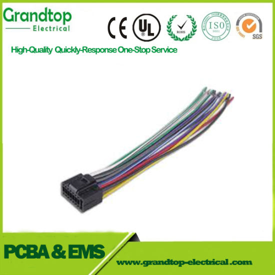 China Automobile Application Automotive Wire Harness Custom Wire ...