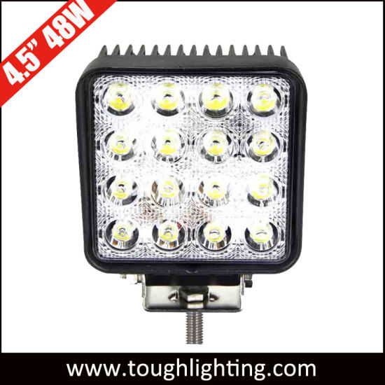 China EMC-Approved 4.5inch 48W 12 Volt Tractor LED Auto Car Work ...