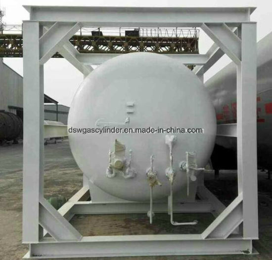 Lar/Lox/ LNG ISO Storage Tank Container ASME