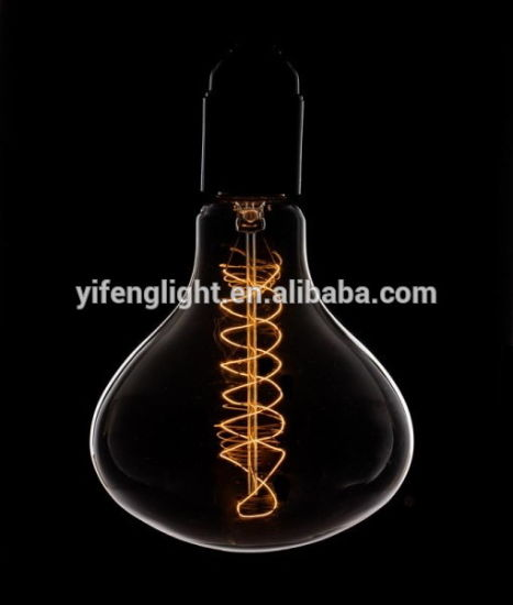 Vintage Light Bulb Giant Water Drop Spiral Filament Base Dimmable pictures & photos