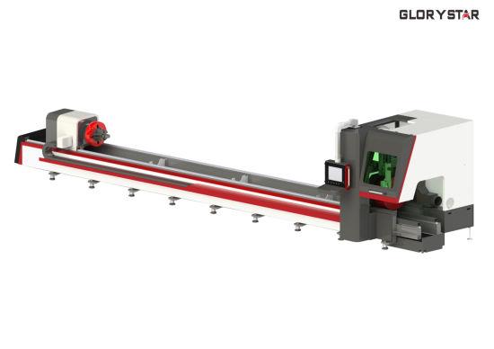 GS-6022tg Tube Brass Beam Fiber Laser Cutting Machine