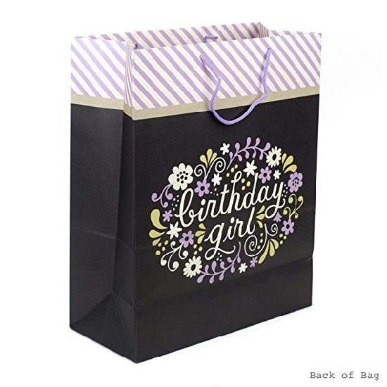 Signature Large Birthday Gift Bag Paper Tote