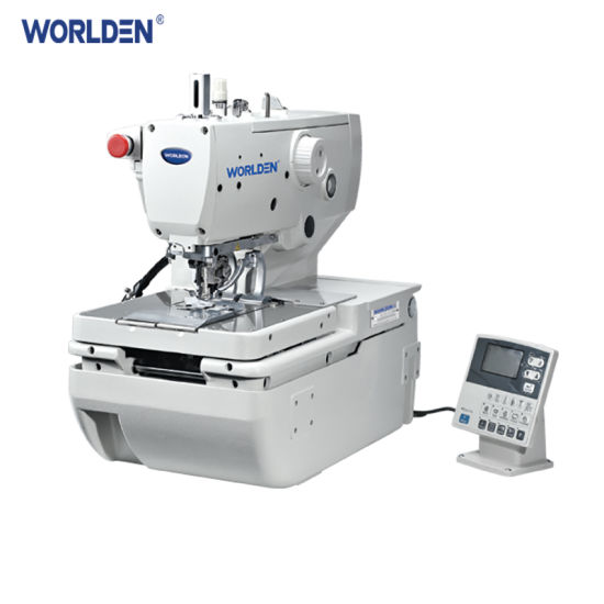 WD-9820 High Speed Computerized Eyelet Button Holing Sewing Machine