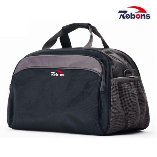 Big Volume Men Leather Duffel Bag Leather Travel Bag