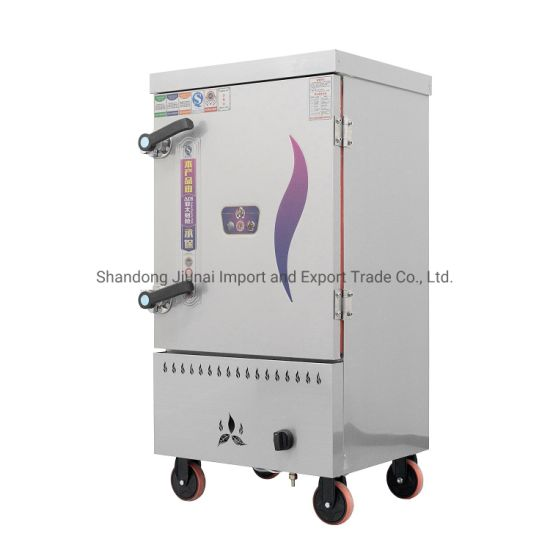 Commercial Stainless Steel One Door Gas Rice Cookware Steamer Cabinet