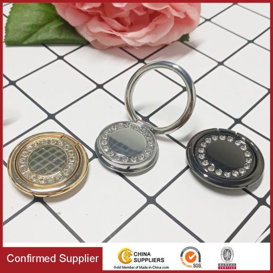 Diamante Fashion Flowery Sparkle Luxury Ring Holder Phone Kickstand Mobile Accessories pictures & photos