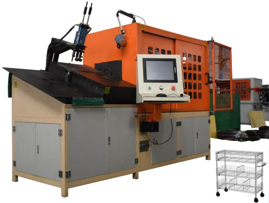 3D CNC Fully Automatic Metal Wire Forming Bending Machine in China