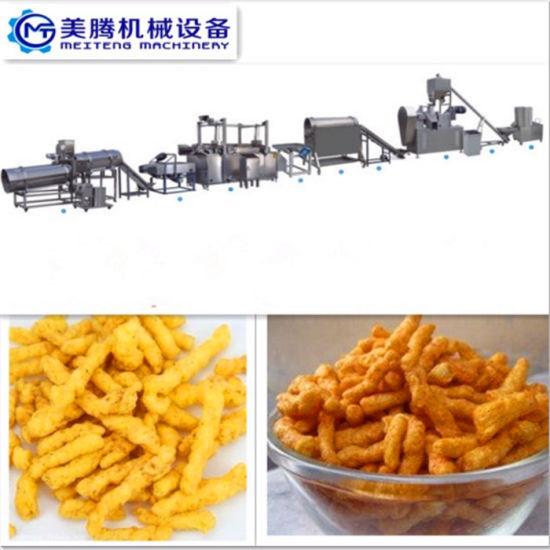 Commercial Fried Crunchy Cheetos /Niknak Making Machine