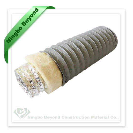 China 2~20 Inch Fiberglass Insulated Flexible Air Duct