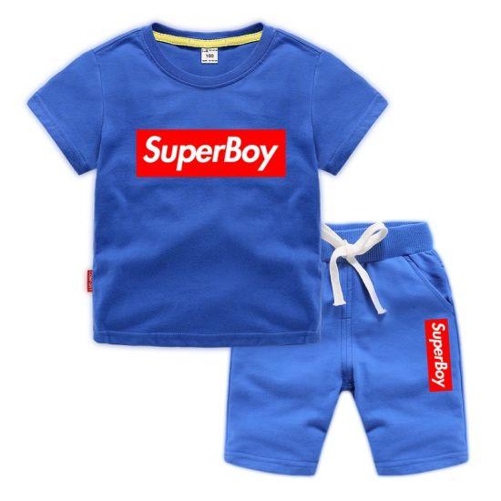 0d8d46086 China Summer Baby Boy Clothes T-Shirt Suits 2PCS - China T-Shirt Set ...