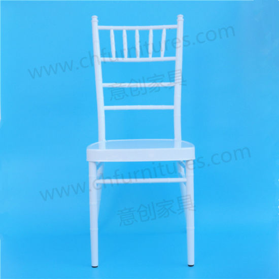 Wholesale Cheap Steel Aluminum Sillas Tiffany Chiavari Chair in White Hc-A22