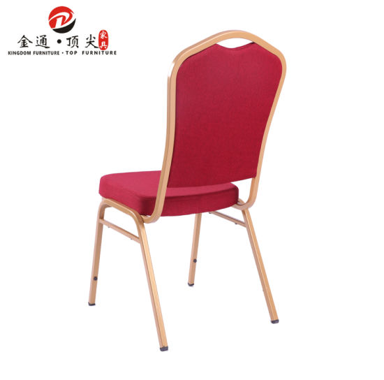Top Furniture Wholesale Stackable Used Aluminum Catering Chair pictures & photos