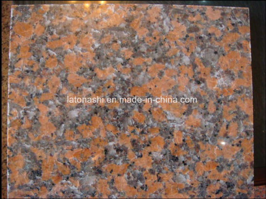 China Cheap Natural Polished G562 Maple Red Granite Stone Floor