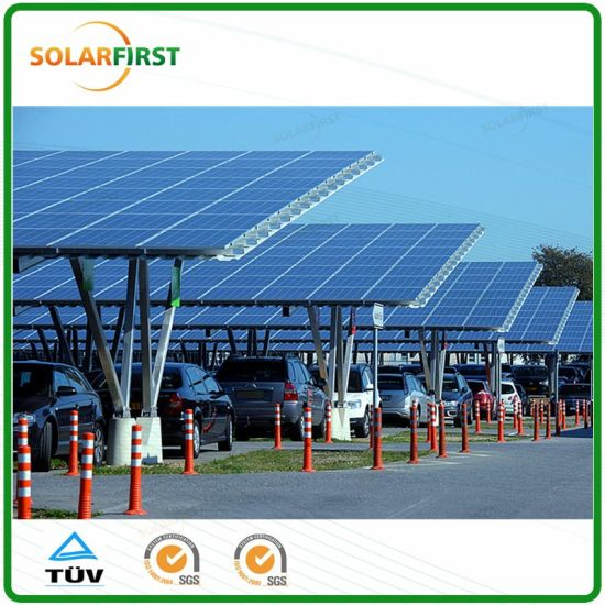 W Shape Design of Solar Carport Mounting Bracket System pictures & photos