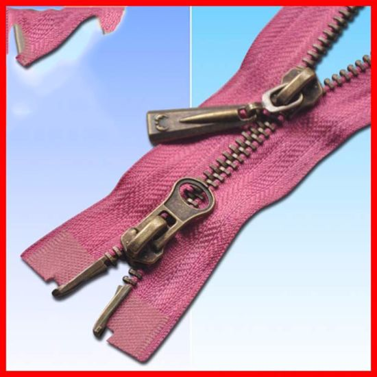 China Over 9000 Designs Ningbo Golden Brass Zipper - China