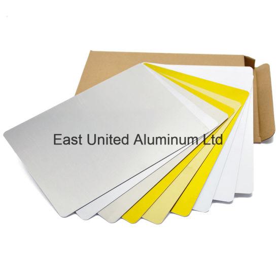 China Hot Sale Blank Aluminium Sheets Metal Sheet with