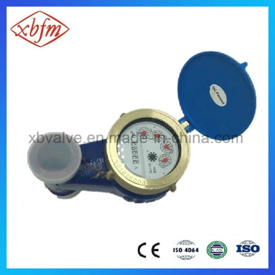 Rotary Vane Dry-Dial Vertical Hot Water Meter pictures & photos