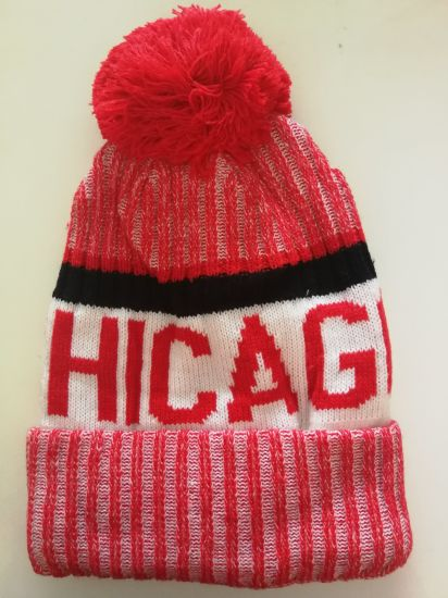 Team USA Chicago Classic Men′s Warm Winter Hats Thick Knit Cuff Beanie Cap b846f347813