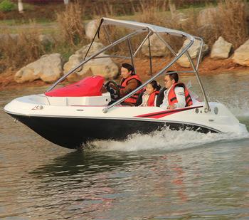 4 Person Mini Fiberglass Jet Boat for Sale