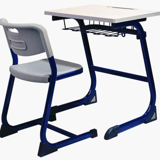 Modern School Metal Table and Chair Set for Students (FECE3121) pictures & photos