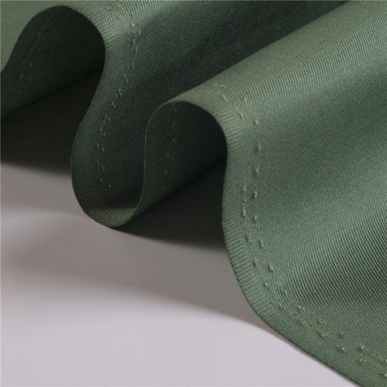 Polyester Four Ways Stretch Double Layer Twill Fabric