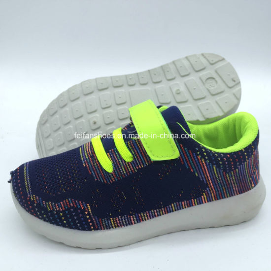 Colorful Kids Injection Running Sports Casual Shoes (HH18511-15) pictures & photos